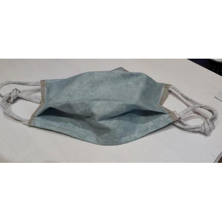 masques gris bleu vert