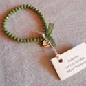 Les P'tits Bracelets coloris vert opaque