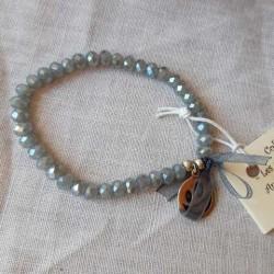 Les P'tits Bracelets coloris gris opaque