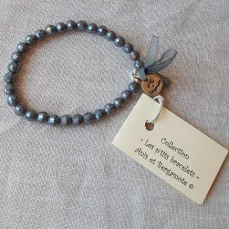 Les P'tits Bracelets coloris bleuté opaque