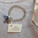 Les P'tits Bracelets coloris gris transparent