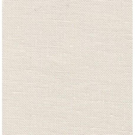 toile à broder de lin Belfast Zweigart Blanc rosé réf. 2055 au mètre
