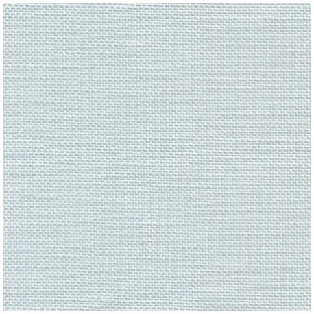 toile à broder Belfast de Zweigart coloris gris bleu glacier réf. 7106 au mètre