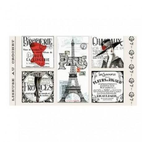 panneau de tissu patchwork sur la mode, la couture, les parisiennes