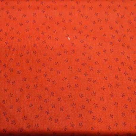 """tissu patchwork rouge collection """"Trinkets 2020"""" """"red dotty vine"""""""