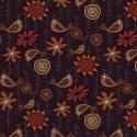 tissu patchwork imprimé oiseaux