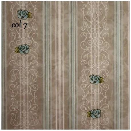tissu patchwork imprimé dentelle