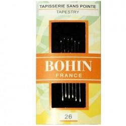 aiguilles à broder Bohin n°26
