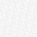 tissu patchwork de Noël, blanc avec des arabesques grises
