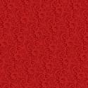tissu patchwork de Noël, ton sur ton rouge avec des arabesques