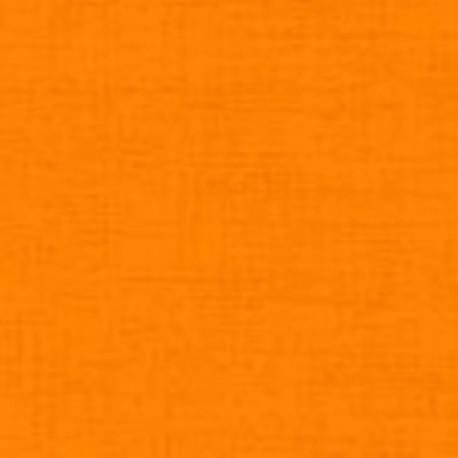 tissu patchwork uni orange Linen texture 2922