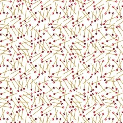 Tissu patchwork imprimé couture collection sewing mends the soul 9236-01