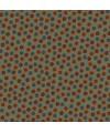 tissu patchwork Lynette Anderson fleuri foncé High Meadow Farm