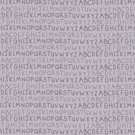 tissu patchwork collection Sunshine after the rain de Lynette Anderson, alphabet
