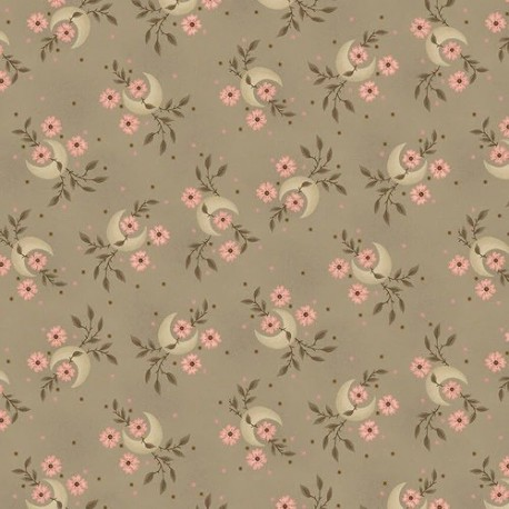 tissu patchwork-gratitude and grace kim diehl cream