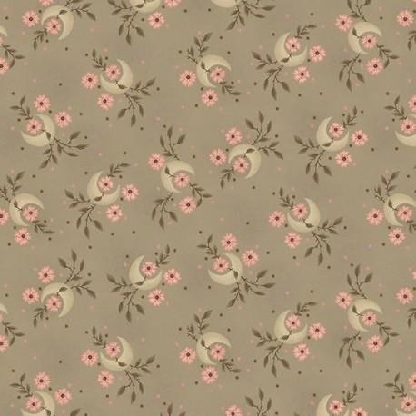 tissu patchwork-gratitude and grace kim diehl taupey gray 9401-33