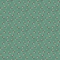 tissu patchwork-gratitude and grace kim diehl turquoise 9404-11