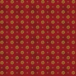 tissu patchwork-gratitude and grace kim diehl red 9407-88