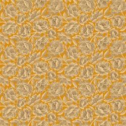 tissu patchwork-gratitude and grace kim diehl orange 9408-30