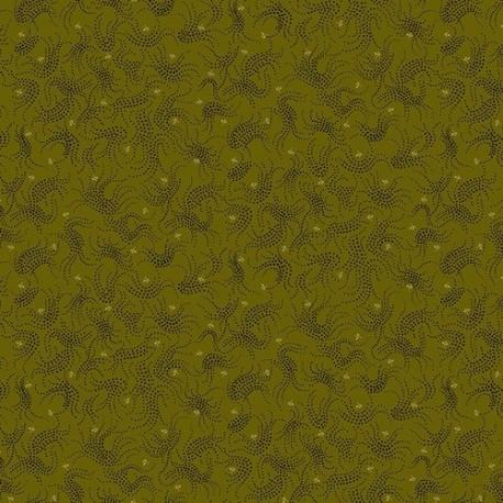 tissu patchwork-gratitude and grace kim diehl green 13-66