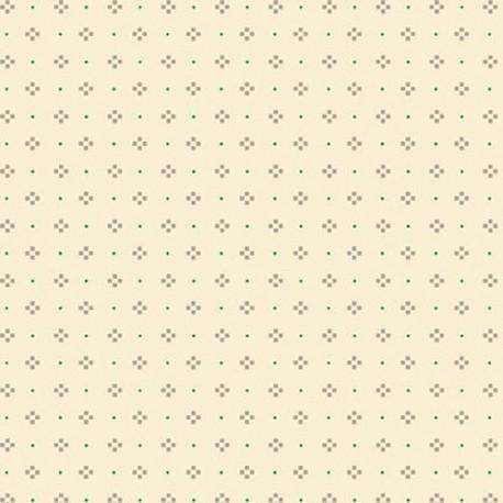 tissu patchwork-gratitude and grace kim diehl cream 9416-40