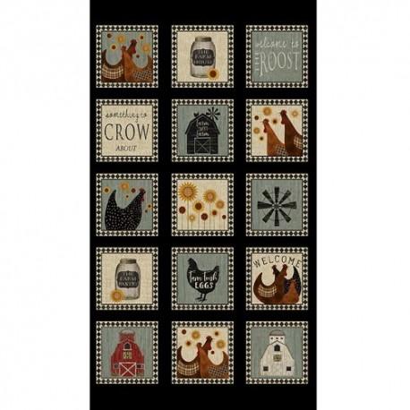 tissu patchwork-collection quilter barn 3049-99
