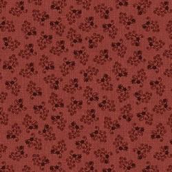 tissu patchwork-collection quilter barn 10197-10 fleuri rouge
