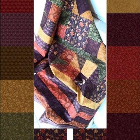 collection de tissu patchwork plant kindness