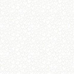 tissu patchwork blanc petits motifs
