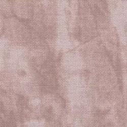 Murano vintage Zweigart réf. 3219 Vieux rose fané