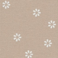 Murano Zweigart réf. 7399 fleurs blanches