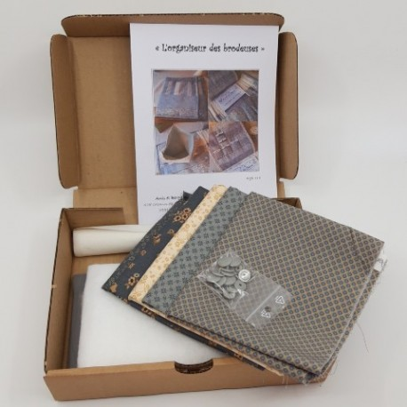 pochette de rangement pour fils tissus l'atelier perdu