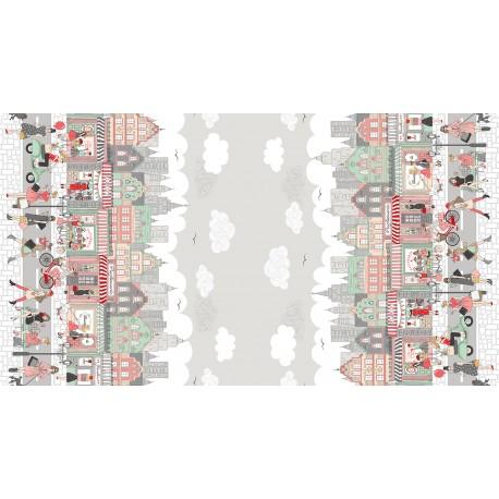 collection pamper tissu patchwork en panneau