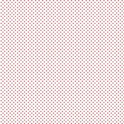 tissu patchwork makower blanc à pois rouge