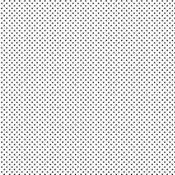 tissu patchwork makower blanc à pois noir