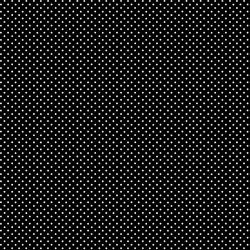 tissu patchwork Makower noir à pois blancs
