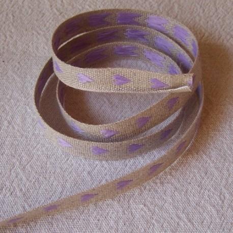 Violet coeur