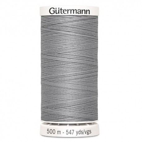 fil couture gutermann 500 m 038 gris clair polyester
