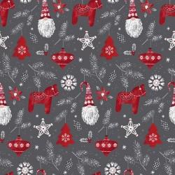 tissu patchwork de Noël...
