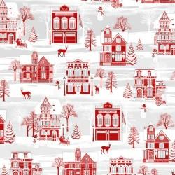 tissu patchwork d hiver...