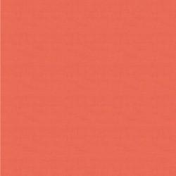 tissu patchwork saumon foncé linen texture makover