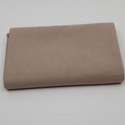 tissu 100 % coton coloris galet