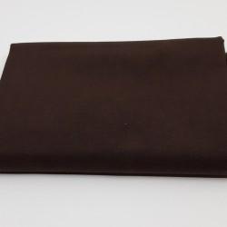 tissu 100 % coton coloris chocolat