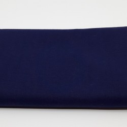 tissu 100 % coton coloris marine