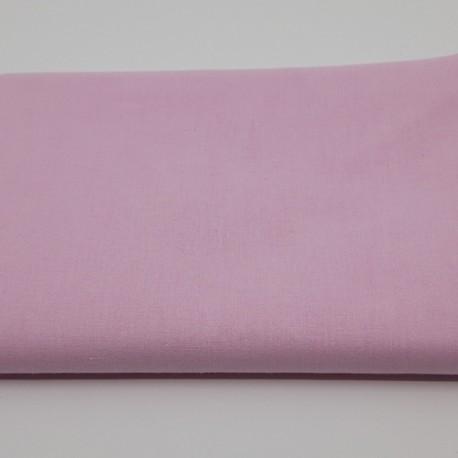 tissu 100 % coton coloris rose