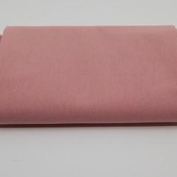 tissu 100 % coton coloris rose thé