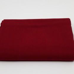 tissu 100 % coton coloris rouge grenat