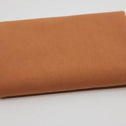 tissu uni domotex 100 % coton coloris cassonade