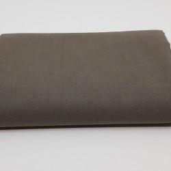 tissu uni domotex 100 % coton coloris éléphant