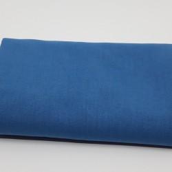 tissu uni domotex 100 % coton coloris denim